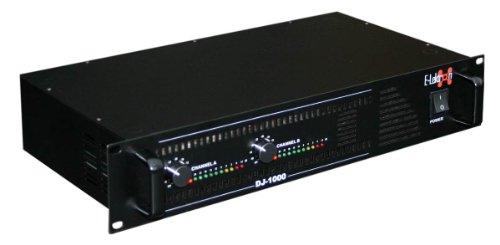 E-Lektron DJ-1000 Stereo PA-Verstärker Endstufe 2X 500W Spitze