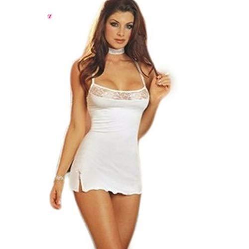 Monllack Ricamo Set Lingerie Sexy Lady Print Prospettiva Pigiama Intimo Donna