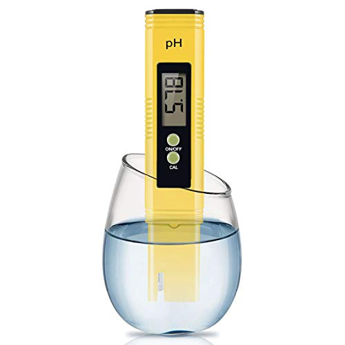 Digital PH Meter, PH Meter 0.01 PH High Accuracy Water...