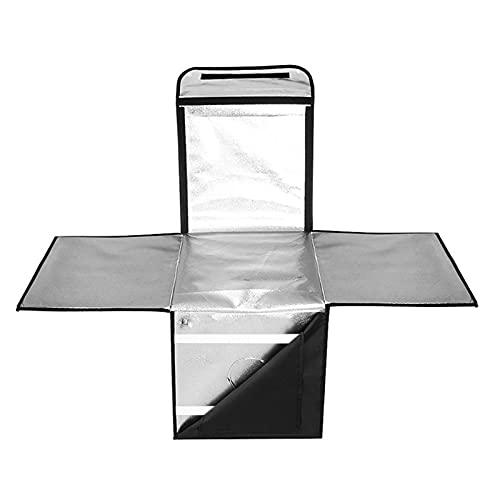 Conjunto De Estudio Plegable Simple De 60 Cm, Estudio De Fotografía De Bodegones Profesional Caja De Luz Suave De Lámpara Dual Led, Adecuado para Uso Doméstico