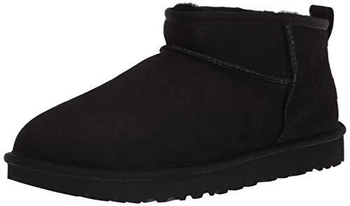 UGG Classic Ultra Mini Boot, Black, Size 8