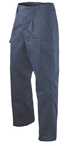 Leo Köhler BW Mole BW14 Pantalon – Grande Taille, Bleu