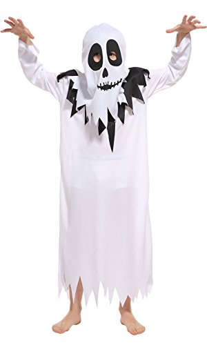 Brcus Kids Scary White Ghost Halloween...