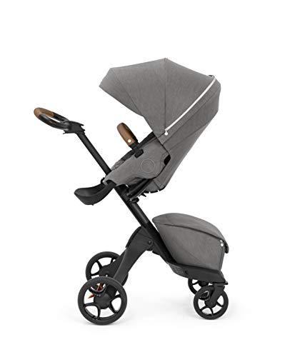 Stokke Xplory X Stroller - Multifunktions-Kinderwagen mit schützenden, ergonomischen Sitz - Farbe: Modern Grey