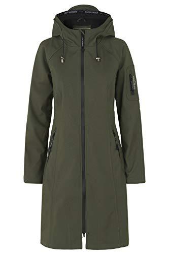 ILSE JACOBSEN HORNBÆK | RAIN37 | 3/4 Raincoat | Breathable Softshell | Army | 48
