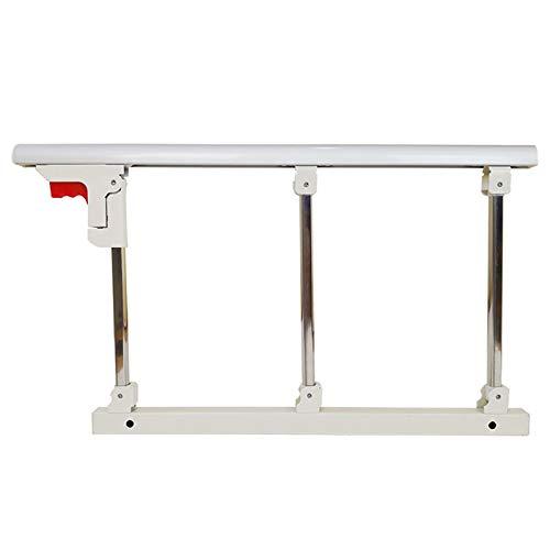 Bed Guard for Single Bed, Bed Rail Safety Assist Handle Bed Railing Guard Rails for Elderly & Seniors, Adults, Children Folding Hospital Bedside Grab Bar Bumper Handicap Medical Assistance(2pcs)