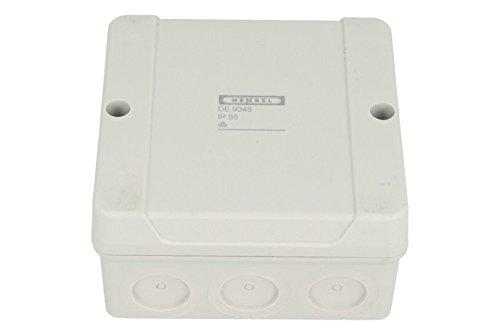 Hensel de 9345Polystyren Electrical Junction Box–Electrical Junction Boxes (Grey, 98mm, 52mm, 98mm, 140g)