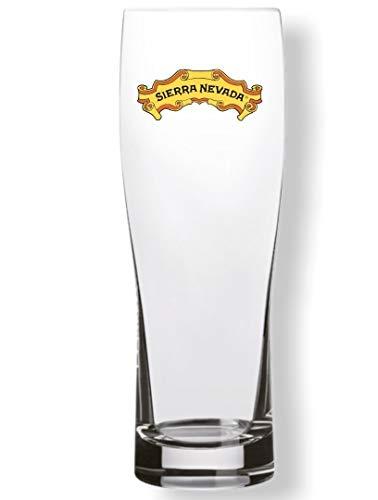 Sierra Nevada 16 Oz vaso de coctelera vaso de cerveza - individual