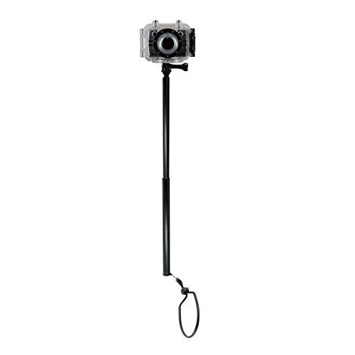 Nilox 13NXAKAC00006 - Soporte para videocámaras (Foolish, F-60, Mini F), Color Negro