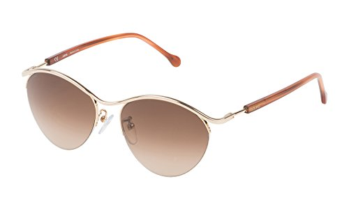 Loewe SLW473M53300Y Gafas de sol, Shiny Rose Gold, 53 para Mujer