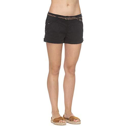 Ragwear Shorts Damen Heaven B 2011-50006 Schwarz Black 1010, Hosengröße:28