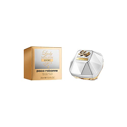 Paco Rabanne Lady Million Lucky 30ml Mujeres - Eau de parfum (Mujeres, 30 ml, Damascena rose, Orange blossom essence, Raspberry, Sandalwood, Vanilla, Aerosol, 1 pieza(s))