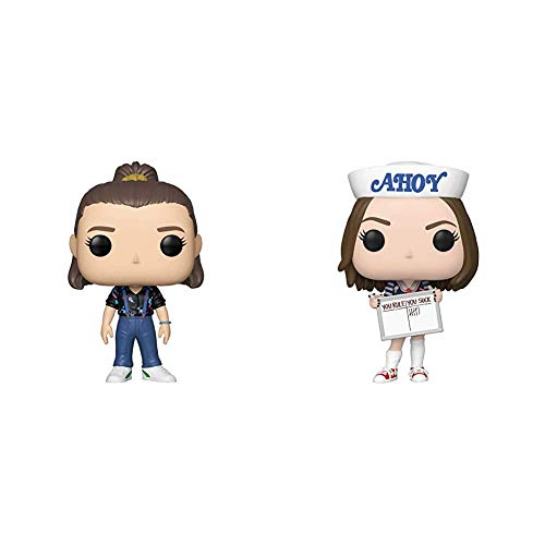 Funko 40954 POP. Vinyl: Television: Stranger Things - Eleven Collectible Figure, Multicolour, us one-Size & Pop! TV: Stranger Things - Robin