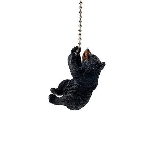 Climbing Bear Cub Fan Pull Chain - Light Pull