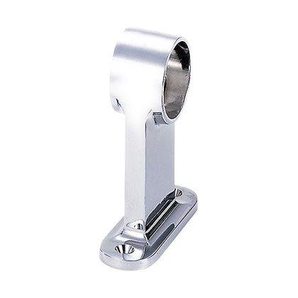 水上金属 F型首長ブラケット クロームメッキ 10mm通 (901-1610-1) 1個