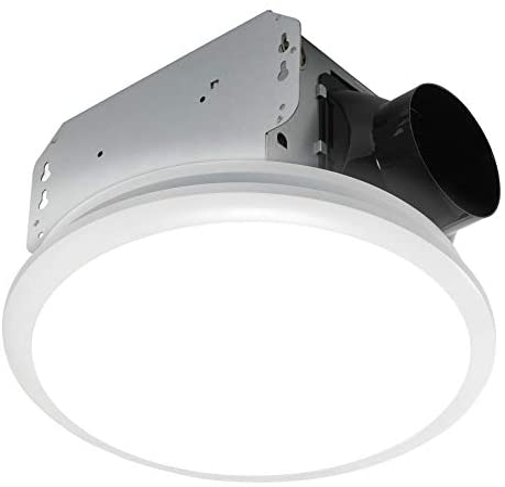 Homewerks 7141 110 Bathroom Fan Integrated LED Light Ceiling Mount Exhaust Ventilation 2 0 Sones product image