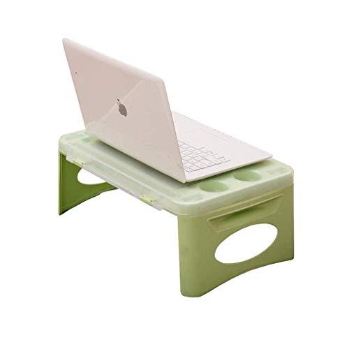 YO-TOKU Laptop Bed Table Bureau Plastic Portable Dienblad van het Ontbijt Lazy lichtgewicht met Storage Box Vouwtafels