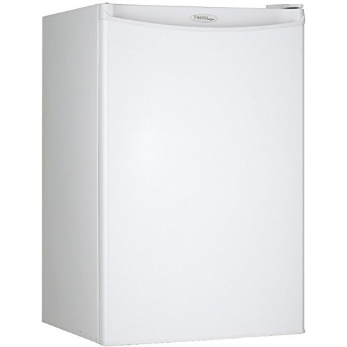 Danby DAR044A4WDD Compact Refrigerator, 115 V, 15 A, 1 Door, 4.4 cu.ft, All Fridge White