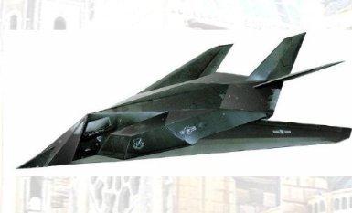 PUZZLE 3D NIGHT HAWK F-117. AVION INVISIBLE AMÉRICAIN. RÉF 14183 INTELLIGENT