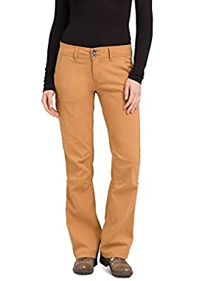 prAna - Women's Halle Roll-Up, Water-Repellent Stretch Pants for Hiking and Everyday Wear, Regular Inseam, Earthbound, 2