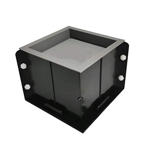 Stampo Vaso Di Fiori Silicone Stampo Flower Pot Quadrato Per Bricolage Quadrato Fiore Cemento Fabbricazione Pentola Stampo