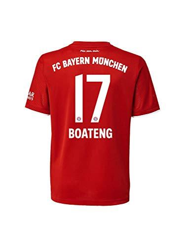 FC Bayern München Home-Trikot Saison 2020/21 Mini Kit, Gr. 104, JérômeBoateng