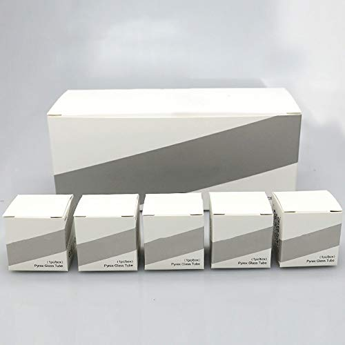 Denghui-ec, Tubo de Vidrio de Repuesto de 20 Piezas para Joyetech ProCore Aries Atomizer 4ml 2ml Fit eVic Primo Mini/Cuboid Tap Kit Mods,Sin Tabaco ni nicotina (Color : 4ml)