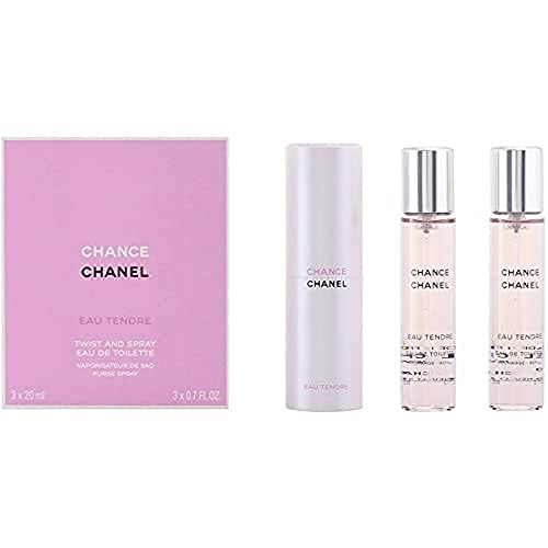 Chanel Chance Tendre femme/woman, Geschenkset (Eau de Toilette, 3x 20 ml), 1 Set