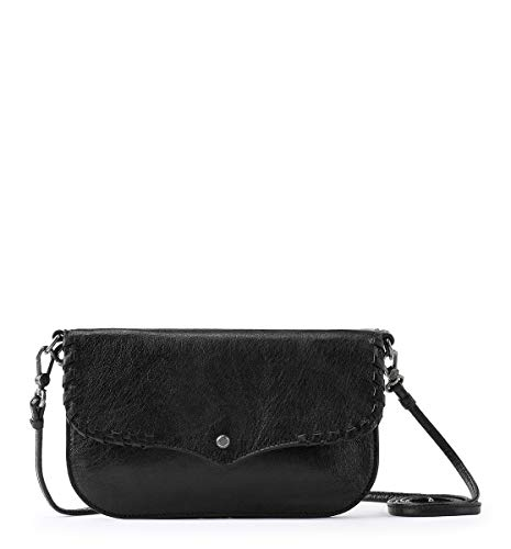 The Sak Women's crossbody Black 9.7in L x 4.3in W x 7.7in H; Drop: up to 22.4 inches