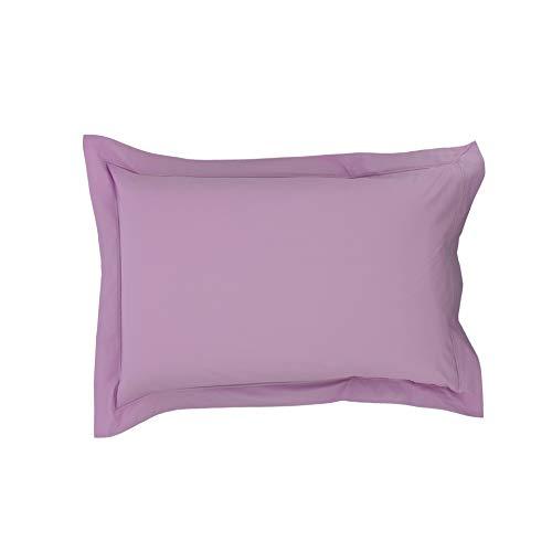 Drap House Taie d'oreiller Percale 50x70 Parme - Couleur: Parme