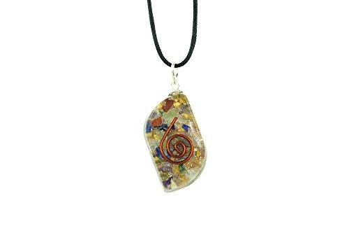 Orgonit Schutz Amulett - 7 Chakren Stein 429