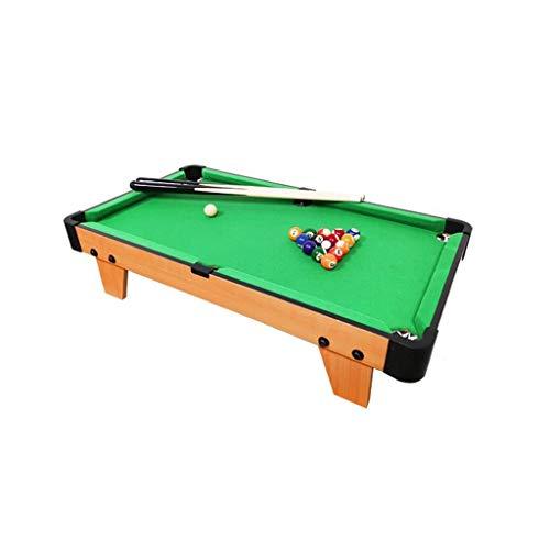 LCRACK Billardtisch Mit Zubehör Snooker-Ball Pool Queue Spaß Mini-Billardtisch Zuhause Drinnen Und Draußen (Farbe : B)