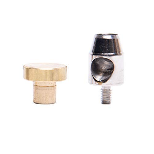 GETMORE Parts Lochwerkzeug, Locheisen, Lochpfeife für Ösenpresse, Spindelpresse - zum stanzen und lochen - 17,0 mm