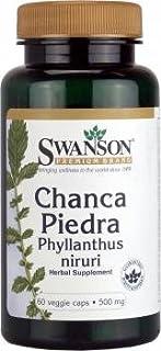 Swanson Chanca Piedra Phyllanthus Niruri (500mg,  60 Vegetarian Capsules) by Swanson