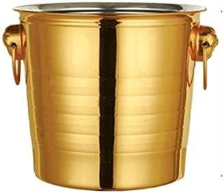 ZLDGYG Stainless Steel Ice 4 years warranty Round Houston Mall Bucket Household Machine