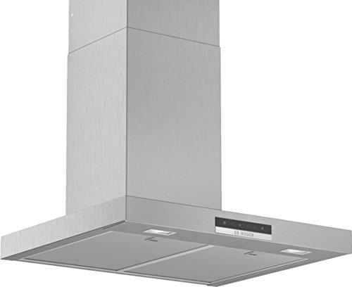 Bosch DWB66DM50 Serie 4 Wandesse / B / 60 cm / Edelstahl / wahlweise Umluft- oder Abluftbetrieb / TouchSelect Bedienung / Intensivstufe / Metallfettfilter (spülmaschinengeeignet)