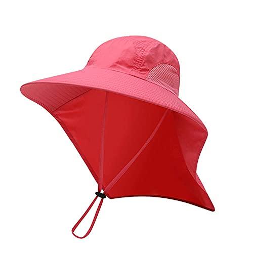 19821 RUIRUI Sombrero de Verano Sombrero Transpirable Sombrero de Pescador Sombrero Anti-Ultravioleta montañismo Sombrero de Pesca Hombres y Mujeres al Aire Libre (Color : C)