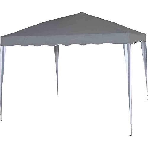 SIENA GARDEN FALTPAVILLON 300x300 cm grau/weiß