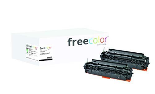 Freecolor Toner HP 304A Black CC530AD Doppelpack kompatibel