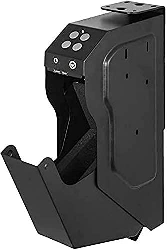 Cassaforte per pistola da scrivania – Cassaforte con codice digitale e serratura a chiave, facile da installare su comodini, scrivanie, armadi, servizi igienici