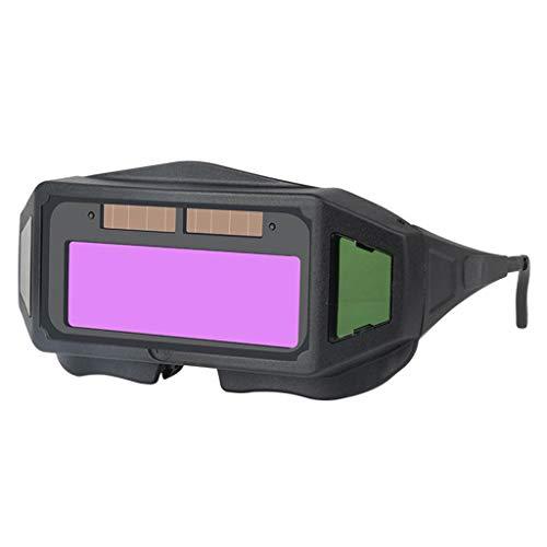 FITYLE Gafas de Soldadura Máscara de Ojos Solares Soldadura Máscara de Soldadura Soldador Soldadura
