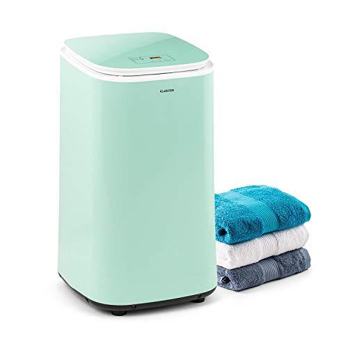 KLARSTEIN Zap Dry Sèche-Linge - 820 W, 50L, UniqueDry Design, Faible encombrement, Tambour en INOX, boîtier en Plastique, Panneau de Commande Tactile, Couvercle en Verre de...