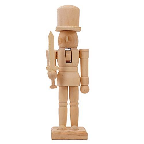 BESPORTBLE Wooden Nutcracker Desktop Decoration Ornament Classic...