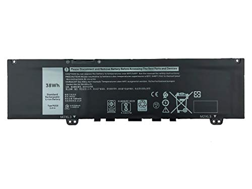 EBKK 38Wh F62G0 Battery for Dell Inspiron 13 5370 7000 7370 7380 7386 7373 2-in-1 P83G P83G002 P87G Vostro 13-5370-D1505G R1605S D1525S D1605S Series F62GO CHA01 RPJC3 39DY5
