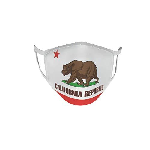U24 Behelfsmaske Mund-Nasen-Schutz Stoffmaske Maske Kalifornien