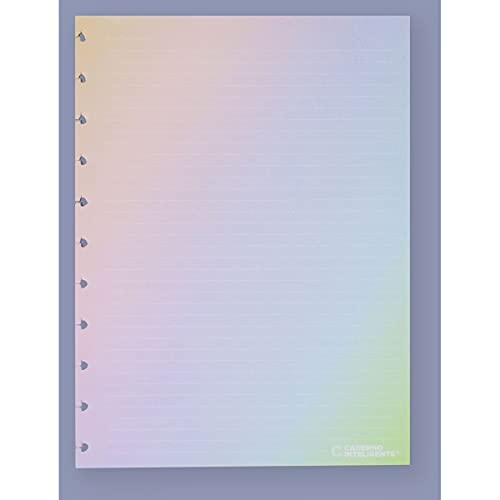 Refil de Folhas Para Caderno Inteligente, 1, Grande, Rainbow, Multicor, 215x280mm, 120 Gramas, 30 Folhas