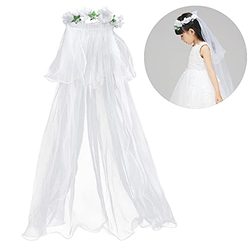LiXHZJ - Corona per fiori per la prima comunione, decorazione per matrimonio, 271