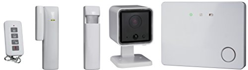 Smartwares HA701SL-IC Draadloos slim draadloos alarmsysteem 3-in-1, bewakingssysteem, wit