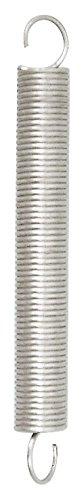 Chapuis rst9–Juego de 3muelles de tracción–acero galvanizado–carga de trabajo indicative 10kg–Diámetro 0, 8mm–longitud 18mm, Gris, Set de 3piezas