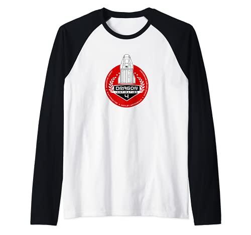 INSPIRACIÓN 4 Falcon 9 Inspiración4 astronauta Dragon crew Camiseta Manga Raglan